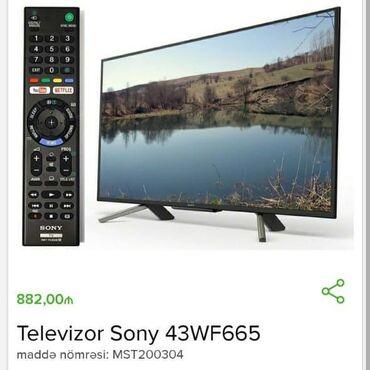 Sony televizoru 43 luk 882 azn