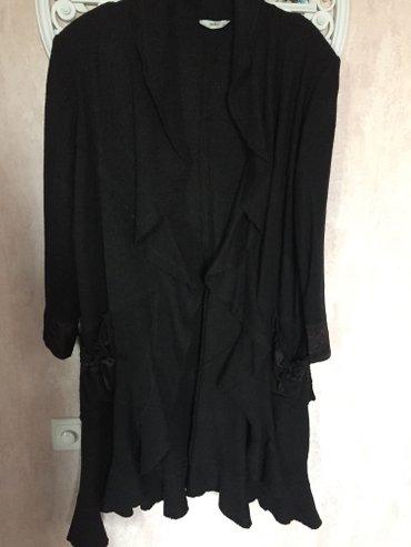 Пончо (жен) 56 размер, черное. турция в Бишкек
