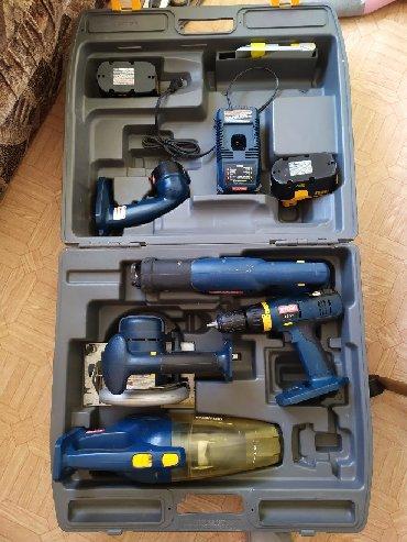 Наборы инструментов в Кыргызстан: Продаю набор электро инструмент на уккумуляторах Ryobi из пяти
