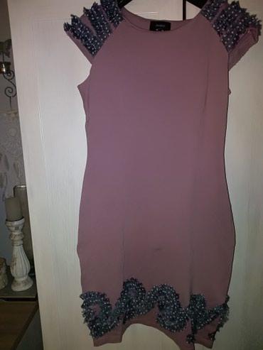 Pamucna haljina sa lepim detaljima vel 38 do 40 - Novi Sad