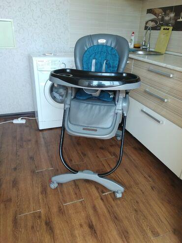 Детский мир - Кок-Джар: Продается стульчик для кормления Teknum в хорошем состоянии
