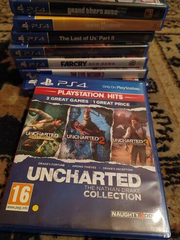 Uncharted collectionTam problemsizdir.İçəridində:Uncharted 1Uncharted