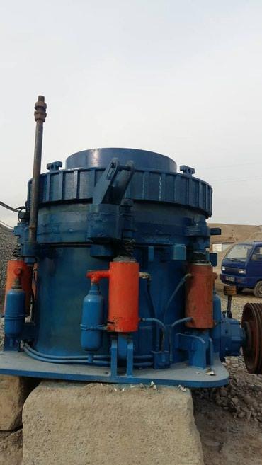 Конус HP220 200 тонн в час отсев щебень грязный отсев в Бишкек