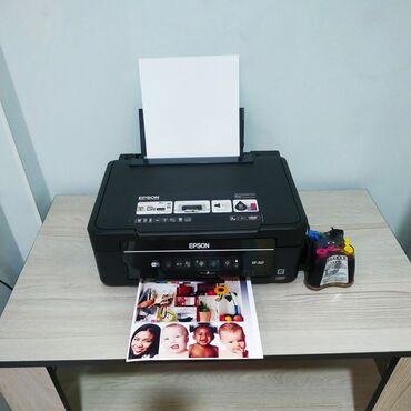 бумага а4 бишкек in Кыргызстан   КАНЦТОВАРЫ: Цветной принтер, Wi-Fi, 3в1, МФУ, печатает, копирует, сканирует Epson