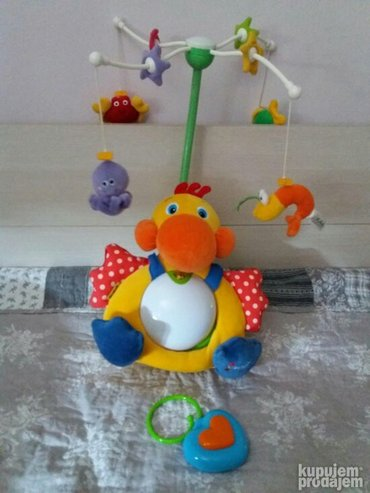 Muzivka vrteska za bebe. Gladni pelikan. opis proizvoda:  novorođene  - Beograd