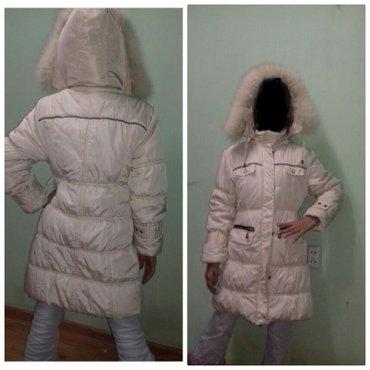 Детская зимняя куртка,одевали 2 раза. в Бишкек