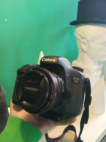 2203 elan   FOTO VƏ VIDEOKAMERALAR: Canon 7D (Full Paket)Əla vəziyyətdə az və səliqəli istifadə olunub