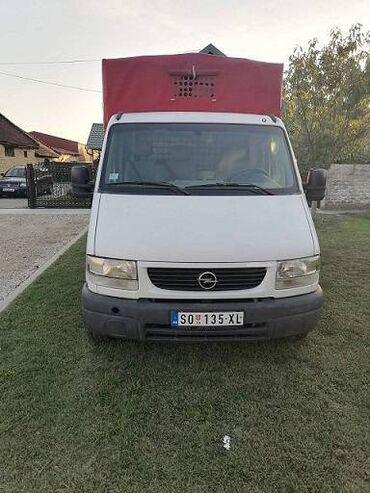 Prodajem kamijon Opel movano 2200 kubika 2002 godiste uradjen veliki s