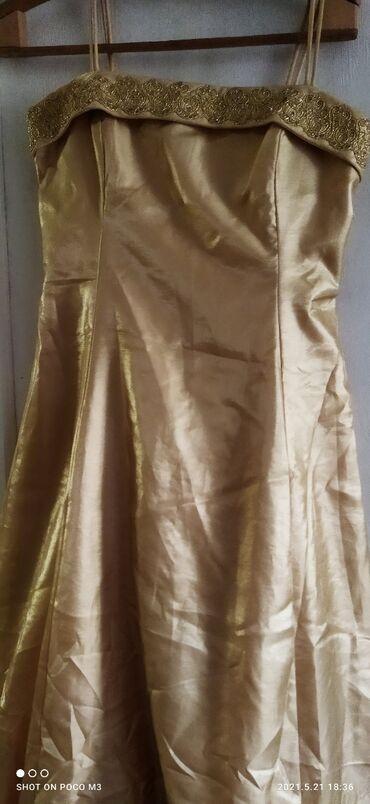 платья вечерние in Кыргызстан | МАТЕРИНСКИЕ ПЛАТЫ: Новое вечернее платье приталенное с пышной юбкой на фатине р.46-48