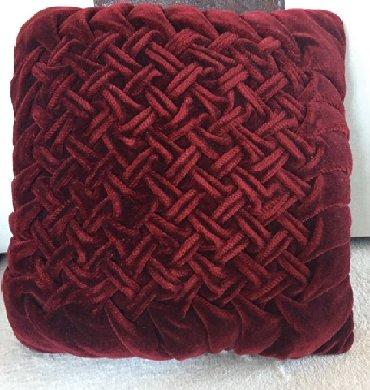 Kuća i bašta - Vrsac: Veci dekorativan jastuk kao nov cena 500 din plus ptt troskovi