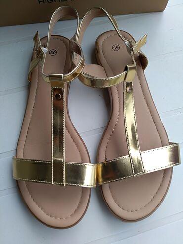 Posao u inostranstvu - Srbija: Prelepe lagane zlatne sandalekupljene u inostranstvupromasen