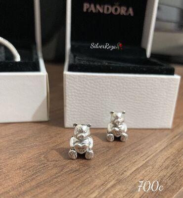 Серебряные Шармы Новинки от Пандора. Шармы Коала, Мишка-700 с