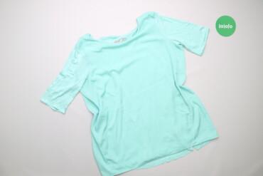 Рубашки и блузы - Цвет: Голубой - Киев: Жіноча блуза з відкритою спинкою Cortefiel, p. L    Довжина: 67 см Шир