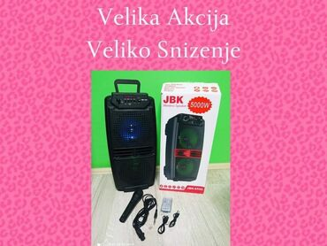 Elektronika - Pozarevac: VELIKA AKCIJA-VELIKO SNIŽENJEBlutut Zvucnik Karaoke JBK-6525 sa