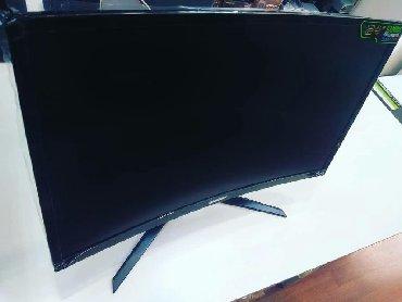 Gaming monitor - Azərbaycan: 23.6 FHD Curved Gaming monitoru 500azn Vga Hdmi, DVİ, DP çıxışlıdır