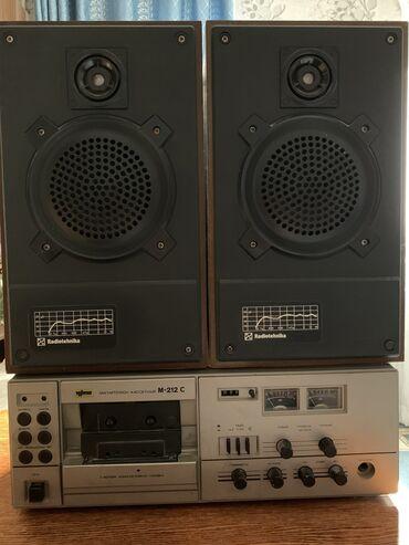 radiotehnika в Кыргызстан: Советские колонки и магнитофон