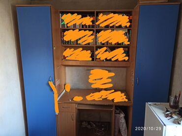 компьютер купить в Кыргызстан: Продается мебельный гарнитур состоящий из: два шкафа (каждый