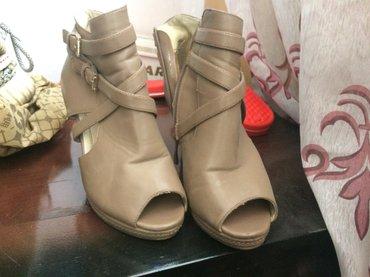 Продаю ботильоны! стильные! размер 36. невысокий каблук 6-7 см в Бишкек