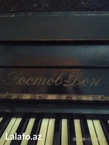 Bakı şəhərində pianino (antikvar 5 aktava)