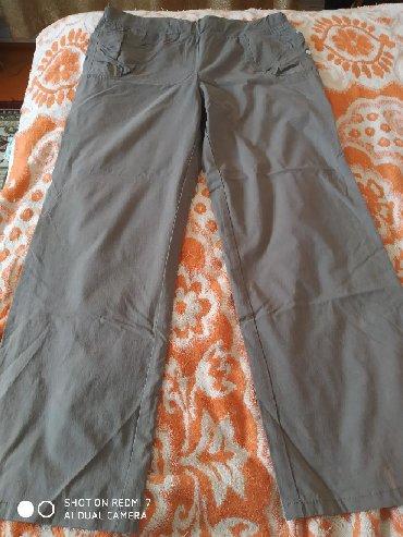 размеры мужской одежды россия в Кыргызстан: Брюки женские размер 46, вторые хаки размер 42