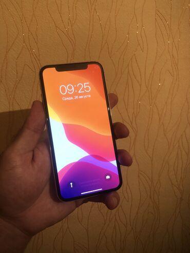 phone - Azərbaycan: İşlənmiş iPhone X 64 GB Ağ