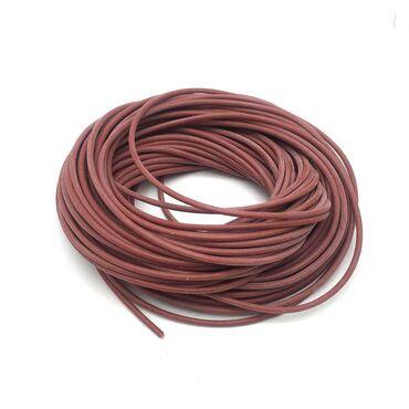 Нагревательный кабель 33 Ом. Диаметр 3 мм. Материал оплетки