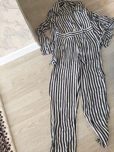 Личные вещи - Чаек: Шикарный костюм комбинезон и пиджак легкая ткань х/б