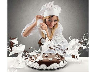 В кондитерскую компанию срочно требуется оформитель тортов. Работа в в Бишкек