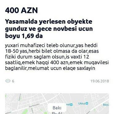 Bakı şəhərində Yasamalda muhafize teleb olunur