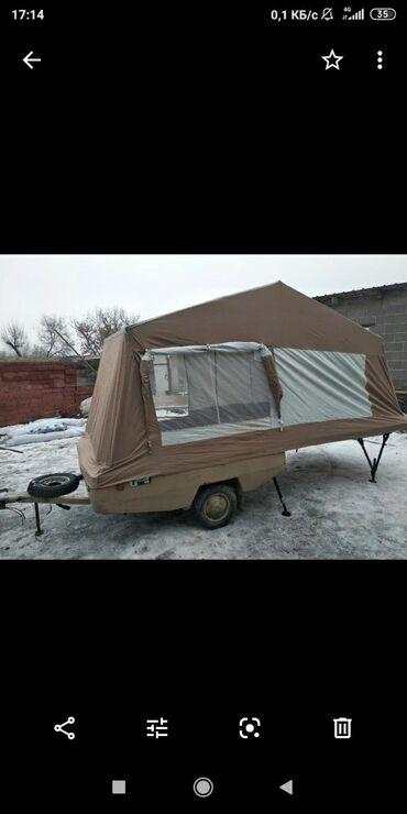 Прицепы - Бишкек: Продаю прицеп палатку,капсулу! Состояние хорошее! Привезена с Литвы