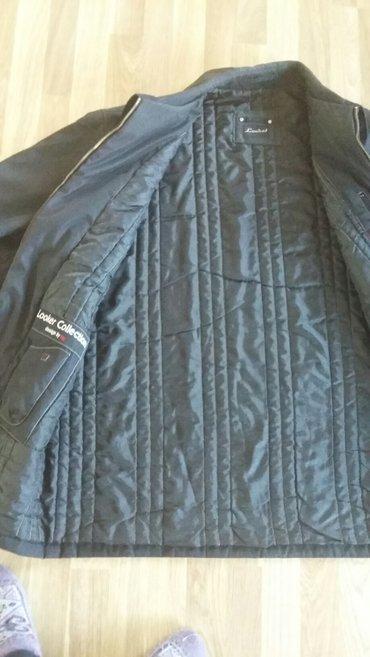 куртка мужская (Турция)черная деми б/у,размер 54-46 в Бишкек - фото 2