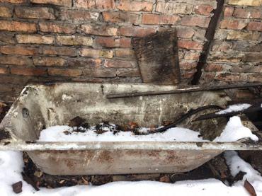 Продаются 2 чугунные ванны, по 3500 каждая. Состояние отличное!!! в Бишкек