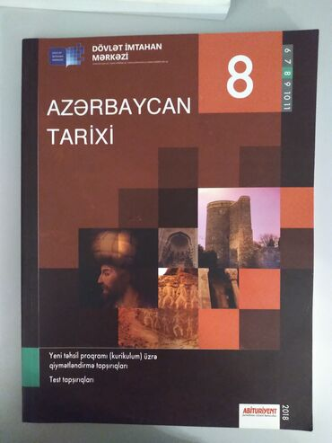 Azerbaycan tarixi 8ci sinif testi DIM. Ici seliqelidir. Yazi