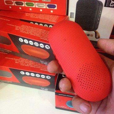 Bakı şəhərində Bluetooth mini dinamik kalonka. flas kart gedir. yeni. qutusunda.