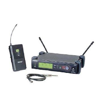 kulub satilir - Azərbaycan: Mikrafon satilir Shure SLX4 Wireless Diversity Receiver + SLX1