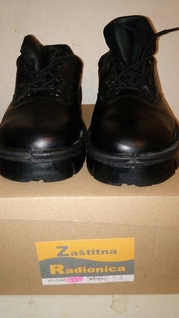 Htz cipele br 43 u crnoj boji kozne-nove. Cipela namenjena za rad ,sa - Beograd