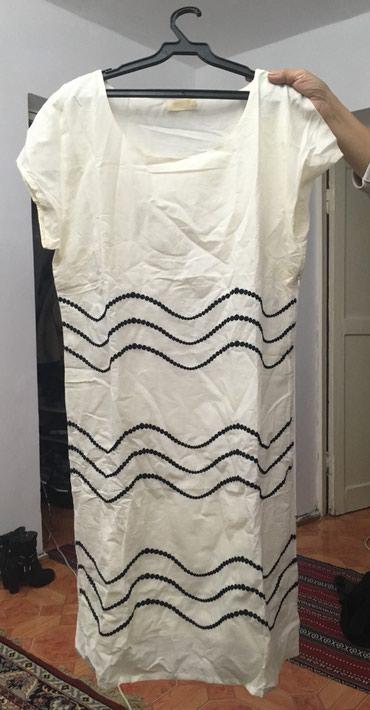 Женское новое платье производство Индия ткань х/б,50 размер в Баетов