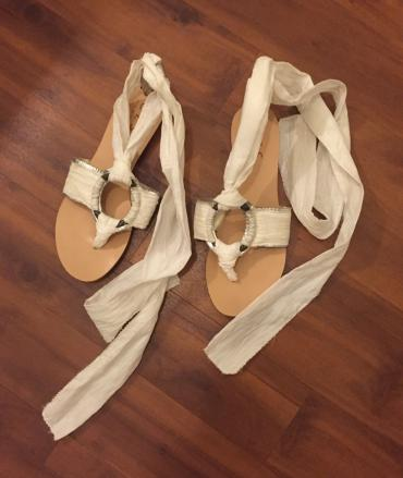 Leather sandals. Like new , worn once , size 39 σε North & East Suburbs