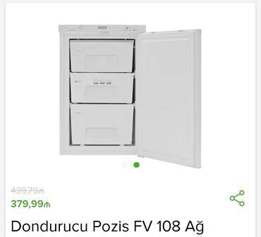 dondurucu - Azərbaycan: İstehsalçı - Pozis Tip - Dondurucu Ölçülər sm - 85x55x55Enerji