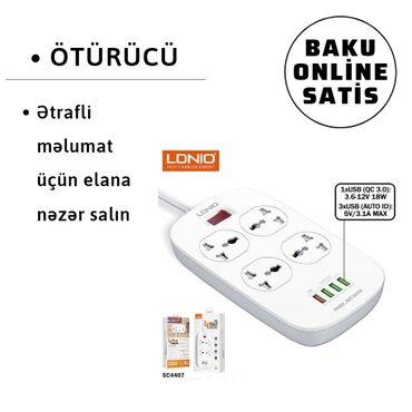 Ötürücü, enerji yükləyicilər, elektronikaTəsvir4 çıxışı və 4 USB portu