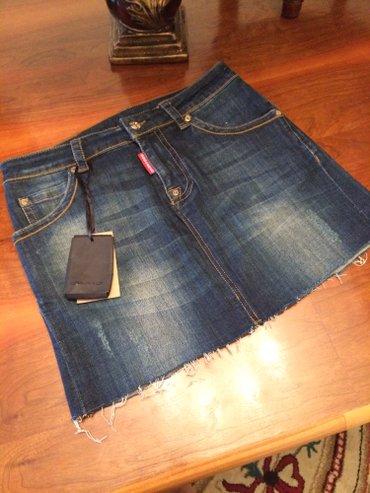 В наличии новая джинсовая юбка от Dsquared. Размер М , L в Бишкек