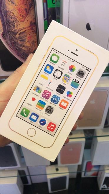 iphone 5 gold - Azərbaycan: Yeni iPhone 5s 16 GB Qızılı