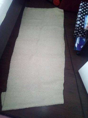 2 prostirke od 100 posto vune veca 160cm sa 75cm,a manja 135cm sa 75cm - Belgrade
