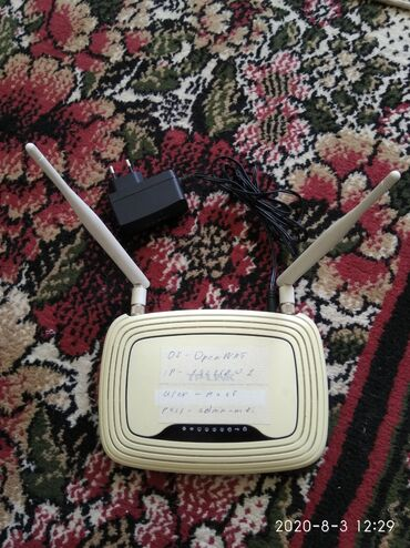modem router tp link в Кыргызстан: Продаю роутеры Tp-Link WR-842ND, прошиты под OpenWRT, DD-Wrt. В