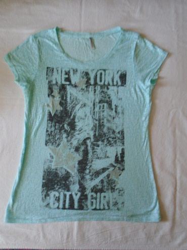 Fishbone, New yorker majica, blago providna, zanimljiv print, - Belgrade