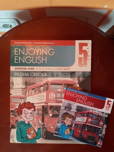 Engleski jezik radna enjoying english 5 zavod za 5 razred - Indija