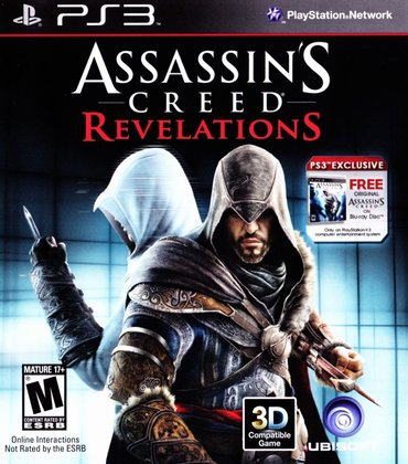 "Bakı şəhərində ""assassins creed: revelations"" ps3 diski"