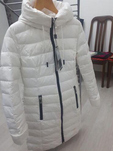 продам нов в Кыргызстан: Продам новую куртку пуховиклегкийс капюшоном