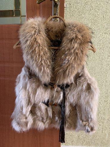 жилет лиса в Кыргызстан: Безрукавка женская натуральная лиса