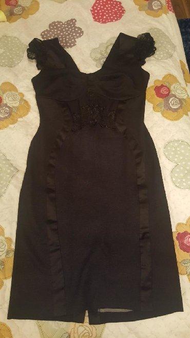 черное платье на свадьбу в Кыргызстан: Продаю почти новое платье. одевалось 1 раз на свадьбу